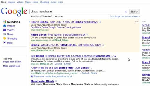 improve search results manchester
