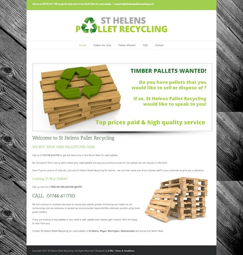 Web Design For St Helens Business