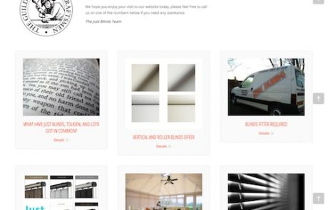 Website design for home improvement business