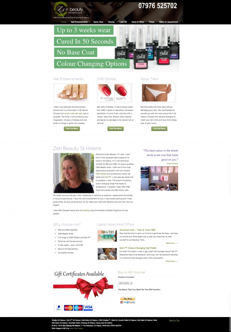 websites for nail salon